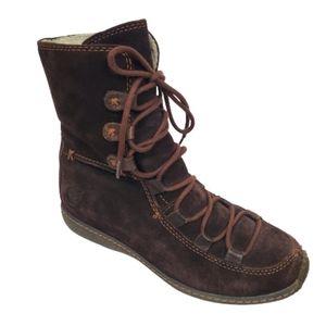 TIMBERLAND Moorland Reykir Ghillie Suede Boots